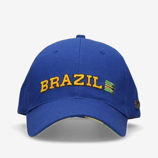 Gorra Brazil Silver