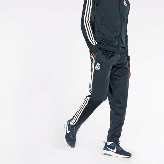 d4aa926cfe6fb Madrid Real Sprinter Pantalón Adidas Hombre Negro YxqnSP