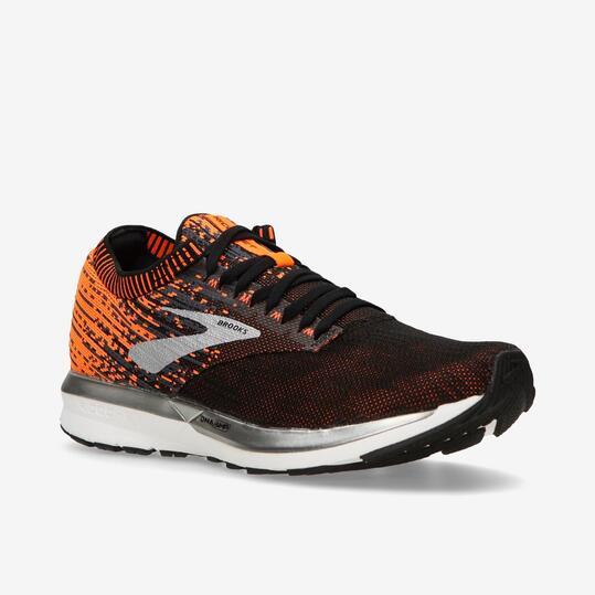 Brooks Ricochet - Negro - Zapatillas Running Hombre