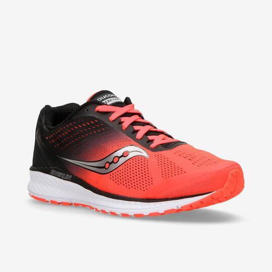 Saucony Breakthru 4 - Coral-Negro - Zapatillas Running Hombre