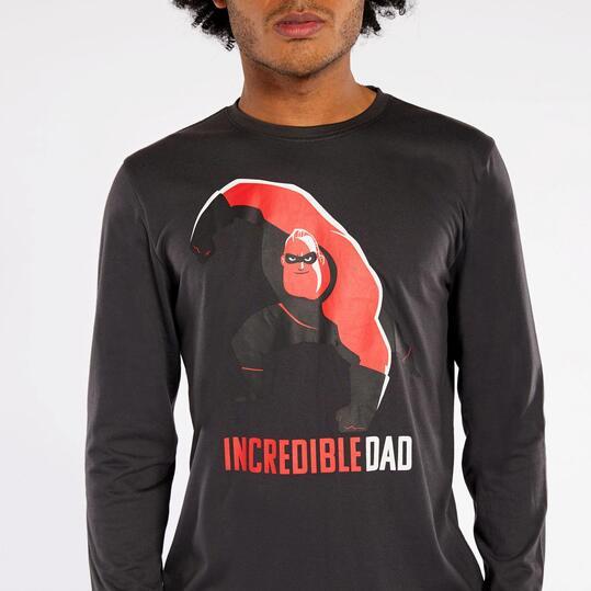 Antracita Los Camiseta HombreSprinter Increíbles fyYgb67