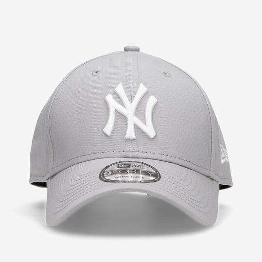 New Era NY Yankees - Gris-Blanco - Gorra Hombre  d5efc8ac2a9
