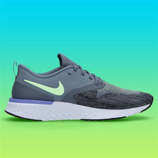 Nike Odyssey React 2 - Gris - Zapatillas Running Hombre