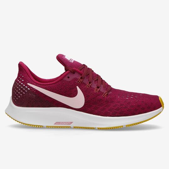 12968e009cf Nike Air Zoom Pegasus 35 - Vino - Zapatillas Running Mujer