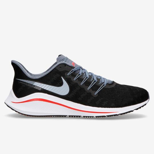 Nike Air Zoom Vomero 14 - Negro-Rojo - Zapatillas Running Hombre