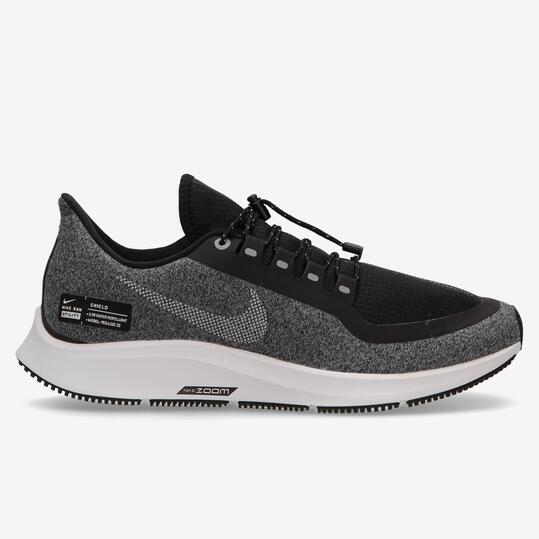Nike Air Zoom Pegasus 35 Shield -Gris- Zapatillas Running Mujer