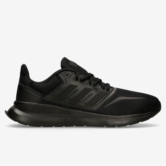 adidas Runfalcon - Negras - Zapatillas Running Hombre