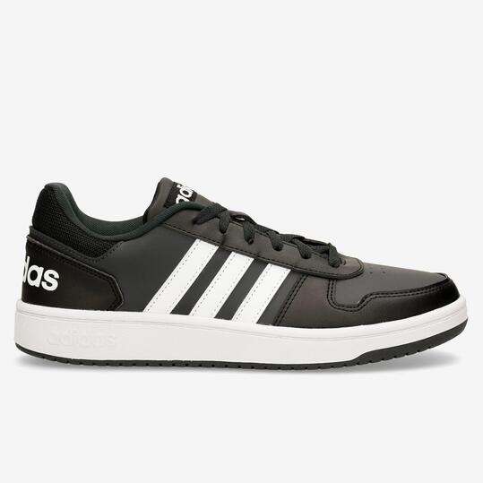 Sneaker Adidas adidas Hoops 2.0 - Negro - Zapatillas Hombre