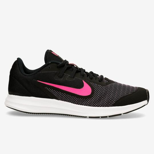 Nike Downshifter 9 - Negro - Zapatillas Running Chica