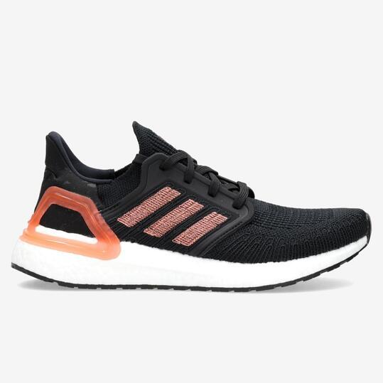 adidas Ultraboost 20 - Negro - Zapatillas Running Mujer