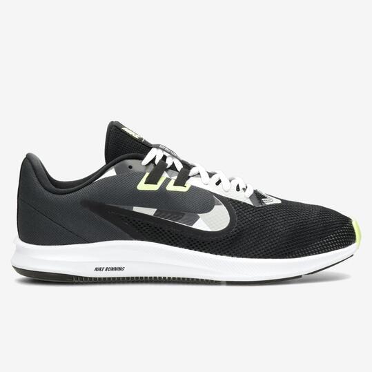 Nike Downshifter 9 - Gris - Zapatillas Running Hombre