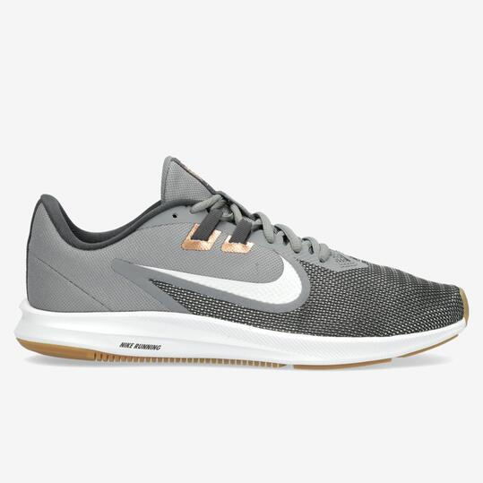 Nike Downshifter 9 - Grises - Zapatillas Running Hombre