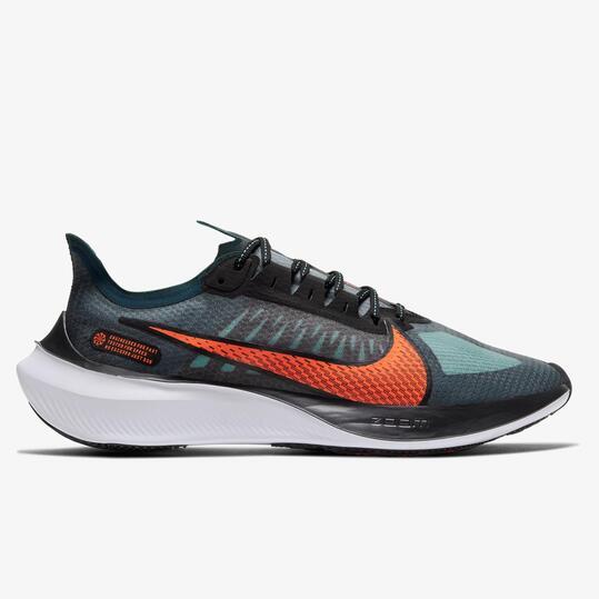 Nike Zoom Gravity 5 - Verdes - Zapatillas Running Hombre