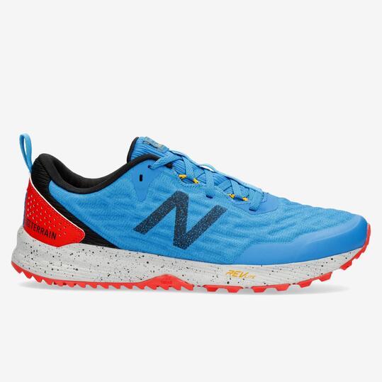 New Balance Nitrel V3 - Azul - Zapatillas Trail Hombre