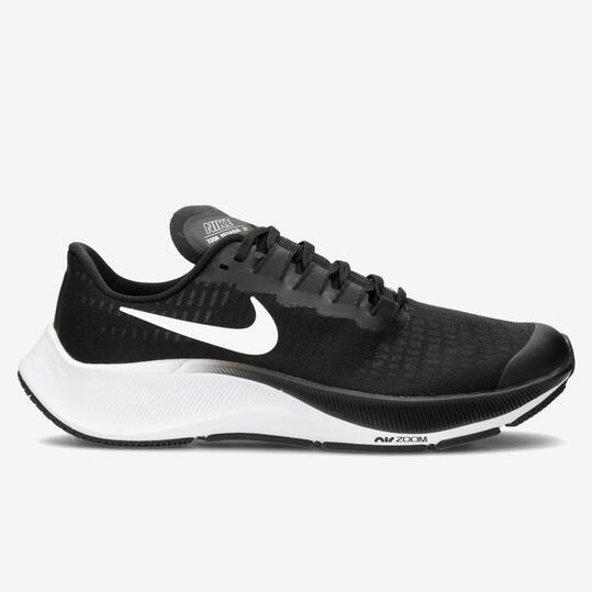 Nike Air Zoom Pegasus 37 - Negro - Zapatillas Running Chica