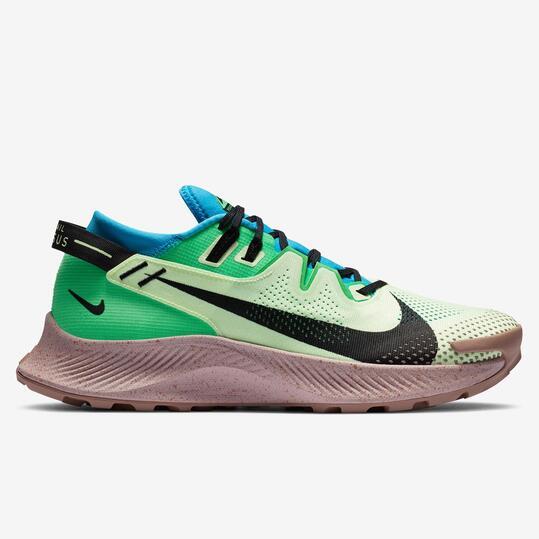 Nike Pegasus Trail 2 - Verde - Zapatillas Trail Hombre