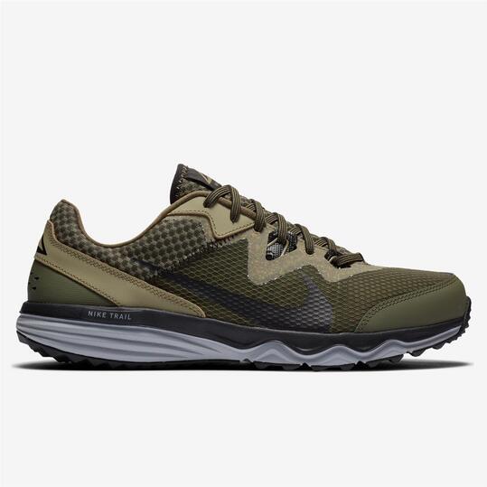 Nike Juniper Trail - Kaki - Zapatillas Trail Hombre