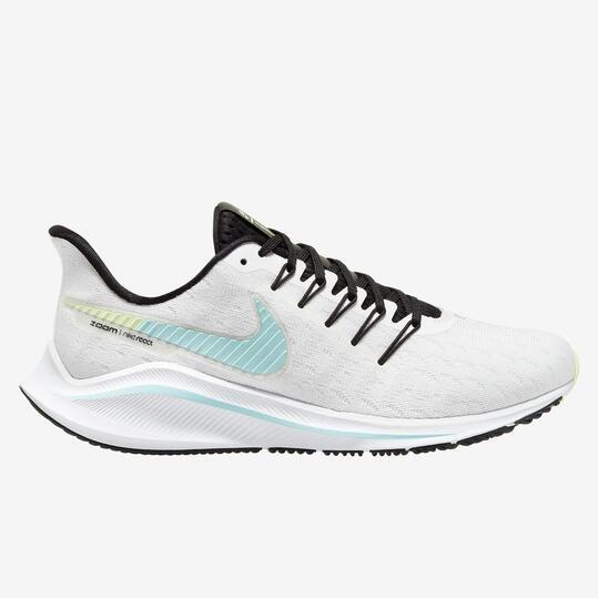 Nike Air Zoom Vomero 14 - Blancas - Zapatillas Running Mujer