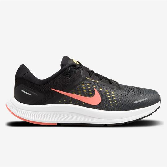 Nike Air Zoom Structure 23 - Negro - Zapatillas Running Hombre