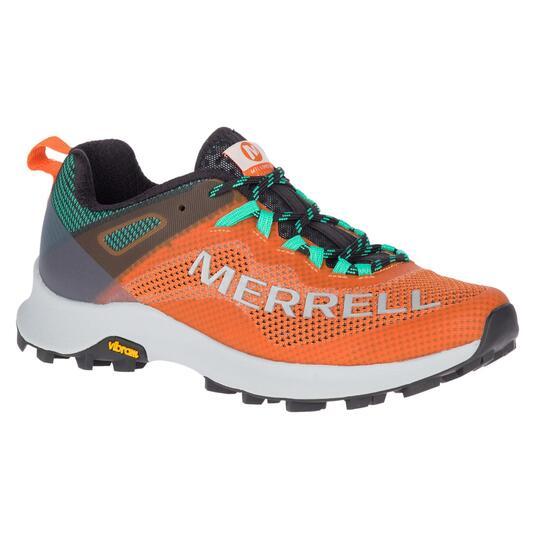 Merrell MTL Long Sky - Naranja - Zapatillas Trail Running Mujer
