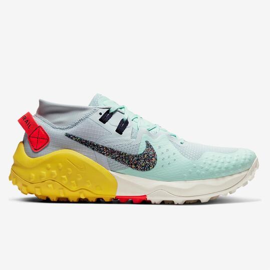 Nike Wildhorse 6 - Azul - Zapatillas Trail Hombre