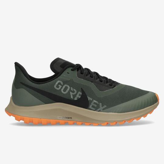 Nike Zoom Pegasus 36 GTX - Verde - Zapatillas Trail Hombre