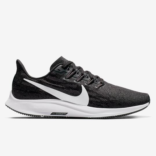 Nike Air Zoom Pegasus 36 - Negro - Zapatillas Running Mujer