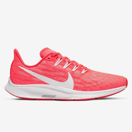 Nike Air Zoom Pegasus 36 - Coral - Zapatillas Running Mujer