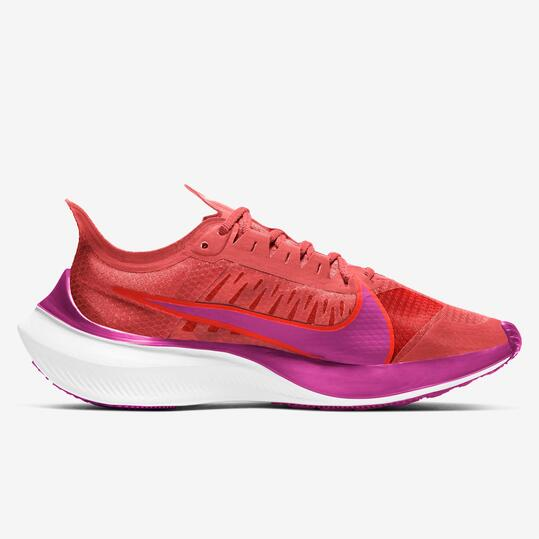 Nike Zoom Gravity 5 - Coral - Zapatillas Running Mujer