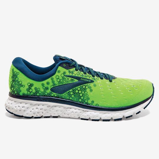 Brooks Glycerin 17 - Verde - Zapatillas Running Hombre