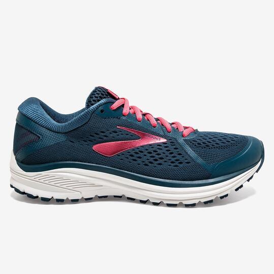 Brooks Aduro 6 - Marino - Zapatillas Running Mujer