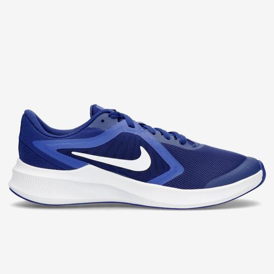 Nike Downshifter 10 - Azul - Zapatillas Running Chico