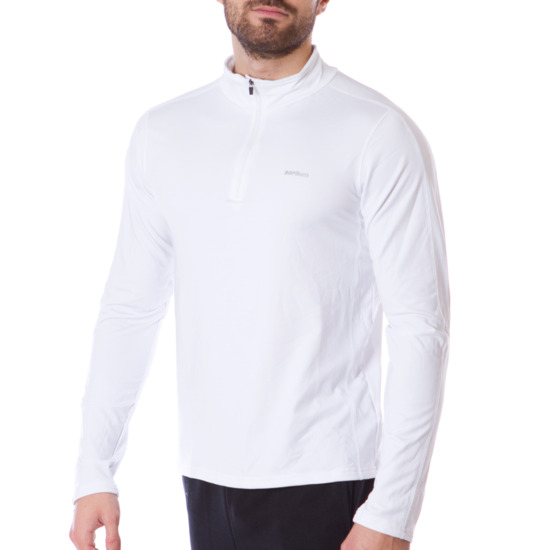 Camiseta BORIKEN Manga Larga Hombre Blanco
