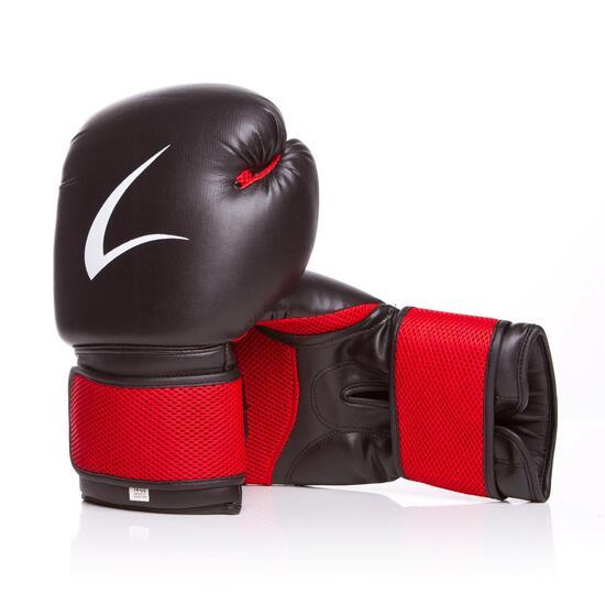 Guantes Boxeo ILICO AIR Negro-Rojo