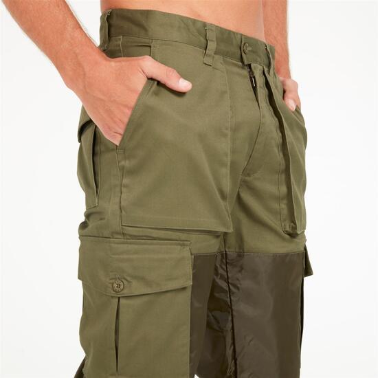 GAMO Pantalón Caza Verde Kaki Hombre