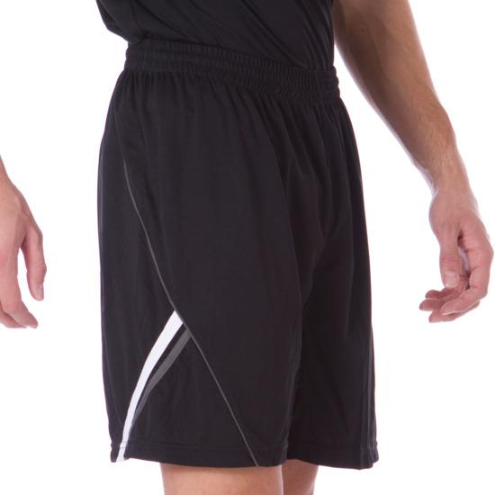 Pantalón Corto Fútbol DAFOR Negro-Blanco Hombre
