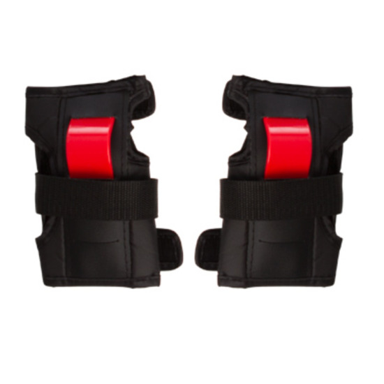 Protecciones Patinaje MÍTICAL Negro-Rojo