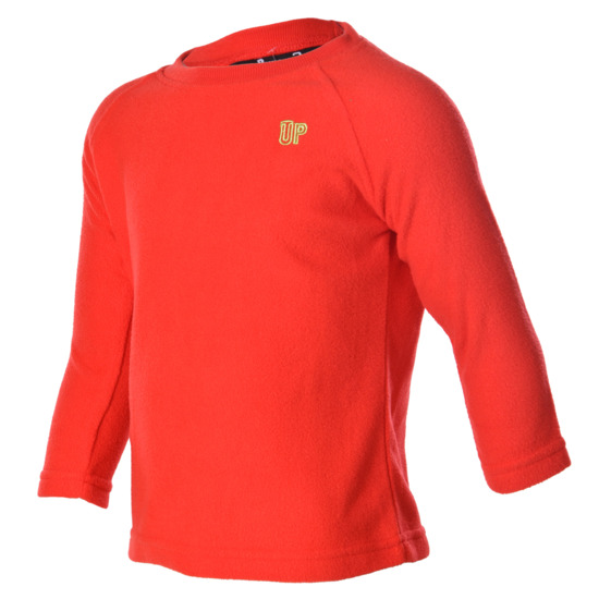 Sudadera polar UP Basic coral niña (2-8)