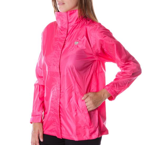 Chubasquero UP Básicos rosa fresa mujer