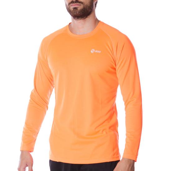 Camiseta IPSO Running hombre en naranja flúor