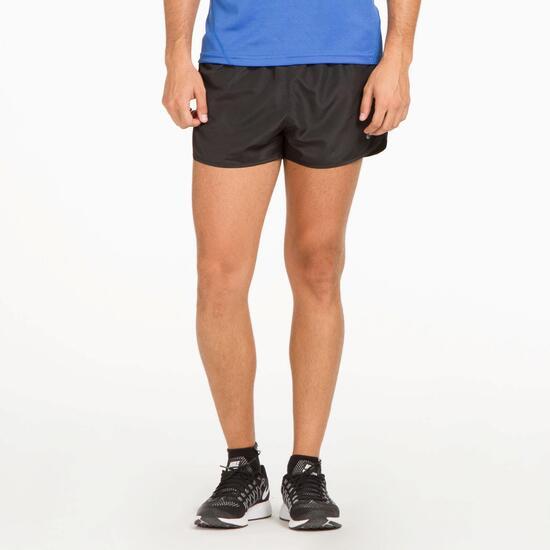 Short IPSO de running hombre en negro