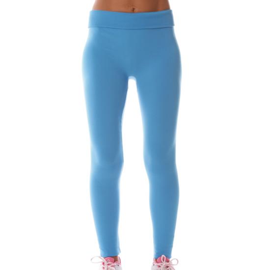 Leggings Moda BRUGI Azul Mujer