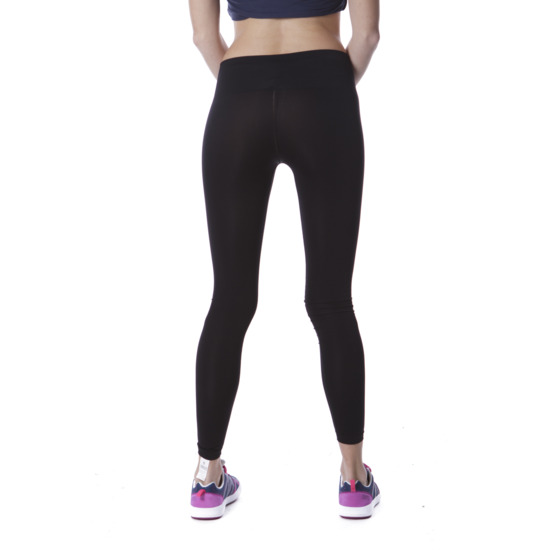 Mallas Fitness ILICo Plata Negro Mujer