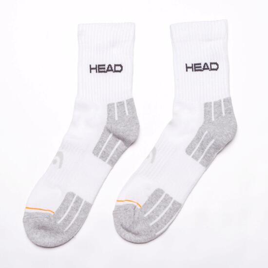 HEAD Calcetines Deporte Blanco Hombre