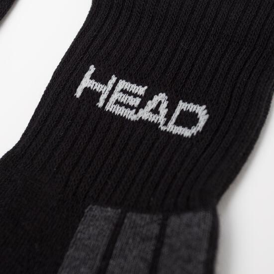 HEAD Calcetines Tobilleros Negro Hombre