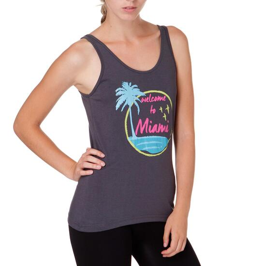Camiseta UP Gris Mujer