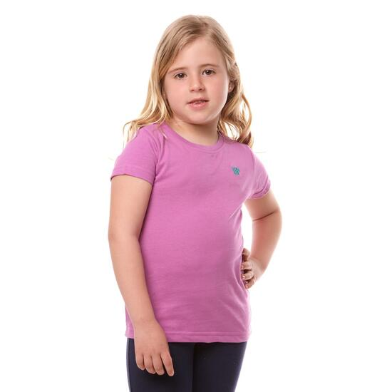 Camiseta UP Bsica Morado Niña (2-8)