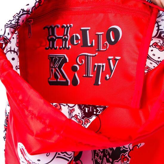 Gymsack HELLo KITTY Rojo Niña