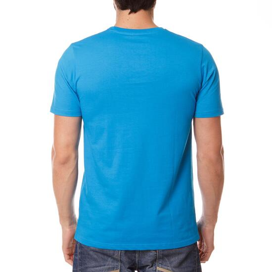Camiseta Montaña BoRIKEN Azul Cyan Hombre
