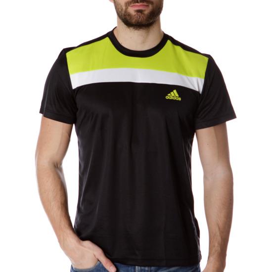 Camiseta Deporte ADIDAS Negro Hombre
